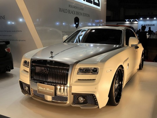 WALD Rolls Royce Ghost Black Bison Edition